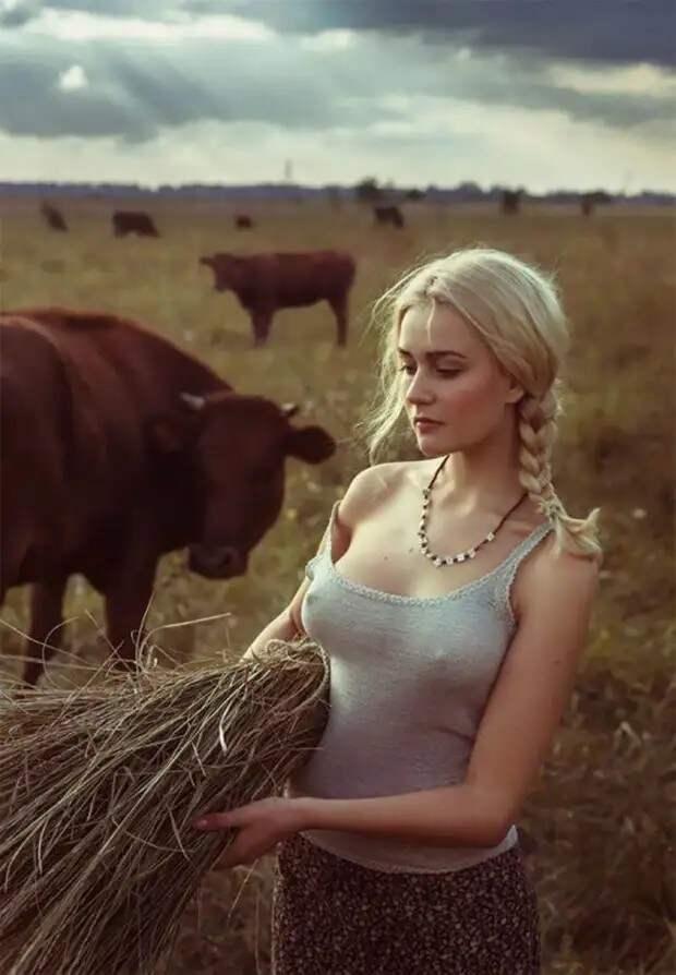 Девушки из российской глубинки