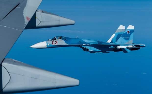 Российские истребители перехватывают все полеты самолетов НАТО у берегов Крыма