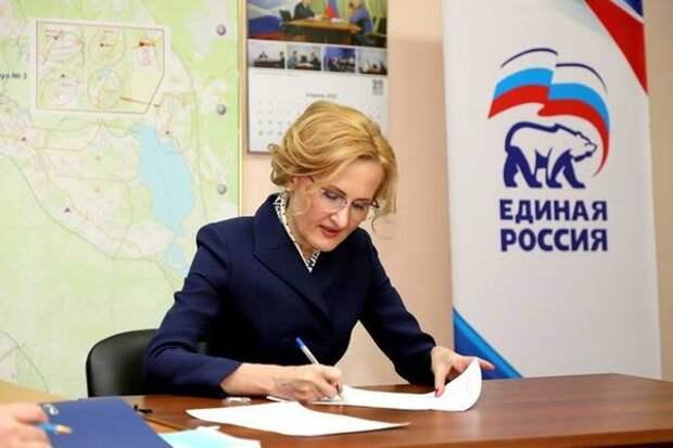 Ирина Яровая будет выдвигаться в Госдуму на новый срок от Камчатки