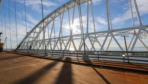 Исторический момент: запуск движения по путепроводу к Крымскому мосту (ВИДЕО)