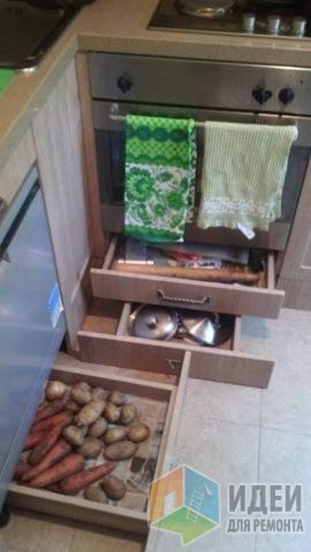 Кухня 5 метров с большим холодильником, стиралкой и посудомойкой