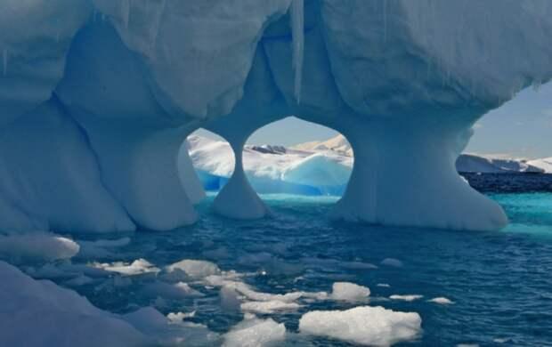 Учёные рассказали об источнике тепла, который растапливает ледники Антарктиды изнутри