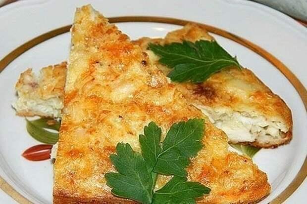 Запеканка из куриной грудки с сыром в духовке