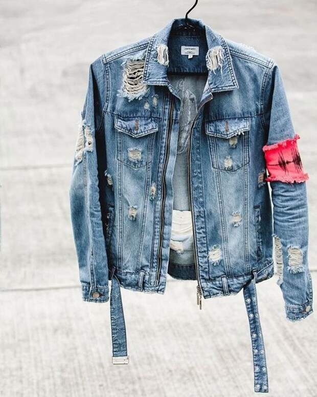 Мужские джинсовки (трафик)