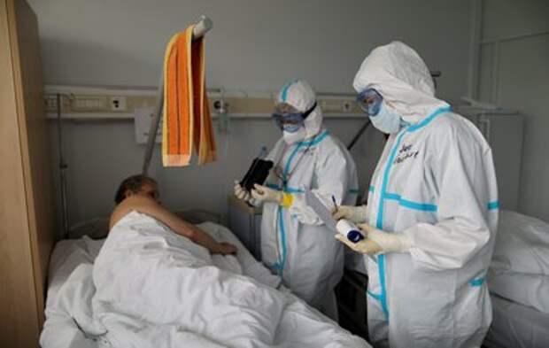 В России за сутки выявили 7770 новых случаев COVID-19