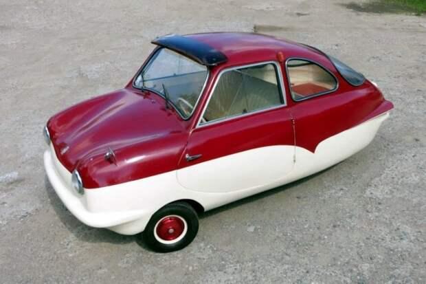 Микроавтомобиль на трех колесах: 60-летний Fuldamobil из Беларуси Fuldamobil, авто, автомобили, малолитражка, олдтаймер, ретро авто