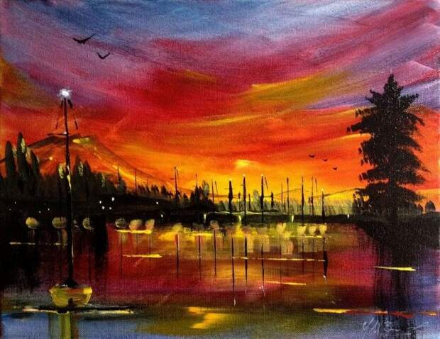 Битва между цветом, природой и художником. Topher Essex