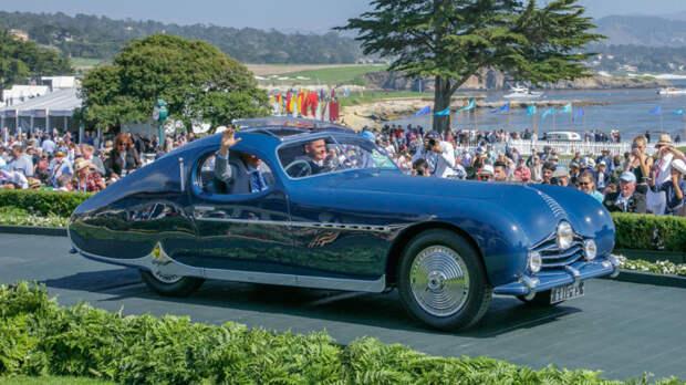 Спортивное обтекаемое купе Talbot-Lago T26 Grand Sport. | Фото: robbreport.com.