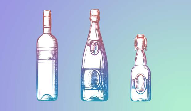 Алкогольные напитки —гликемический индекс и таблица содержания углеводов