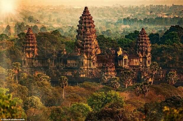 2. Ангкор, Камбоджа красивые места, места, мир, путешествия, рейтинг, страны, туризм, фото