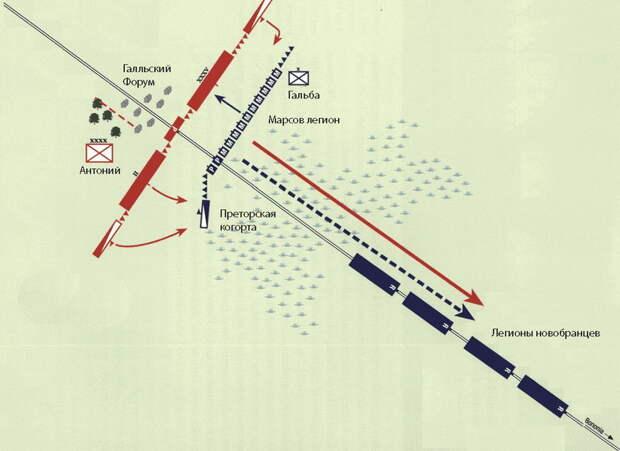 Сражение у Галльского Форума, 14 апреля 43 года до н.э. - Гражданские войны Рима: Антоний против сил сената | Warspot.ru