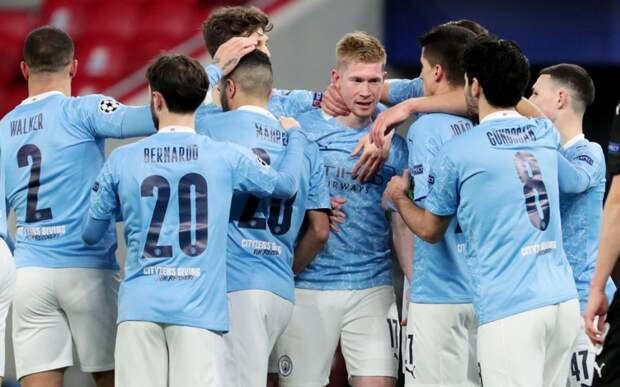 «Манчестер Сити» в ответной игре победил гладбахскую «Боруссию» и вышел в 1/4 Лиги чемпионов