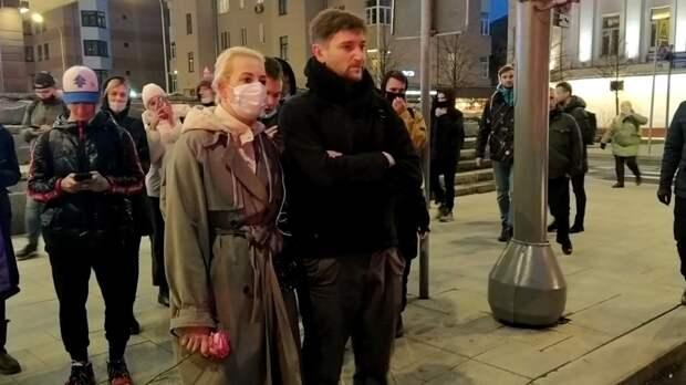 Участники незаконной акции в Москве избежали массовых задержаний