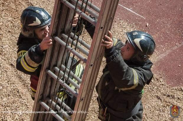 Традиционный Чемпионат по боевому развертыванию пройдет в Москве. Фото: Департамент по делам гражданской обороны, чрезвычайным ситуациям и пожарной безопасности города Москвы