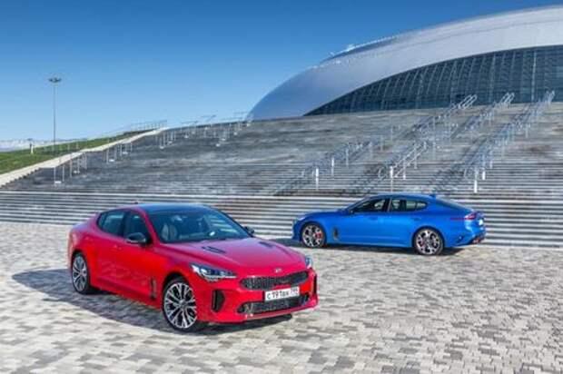 Продажи Kia Stinger стартуют в марте. Известны цены и комплектации