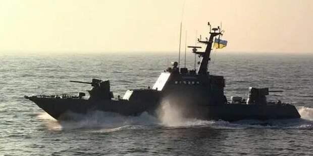 Украинских военные катера и корабли НАТО провели учения в Черном море
