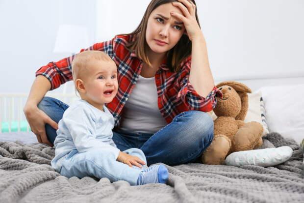 Почему молодые мамы устают от собственных детей