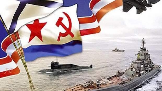 Поздравление Владислава Хаджиева и Владимира Сабивчака с Днём военно-морского флота России!