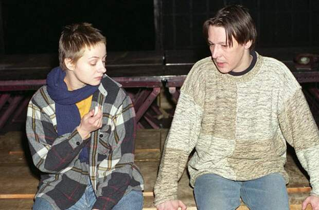 Евгения Добровольская и Михаил Ефремов. / Фото: www.my-mask.ru