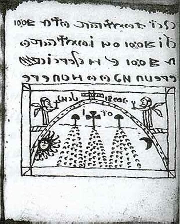 Иллюстрация в Кодексе Рохонк. (www.nasul.tv/wp-content/uploads/2012/03/codex-rohonczi-pagina-187-a1.jpg)