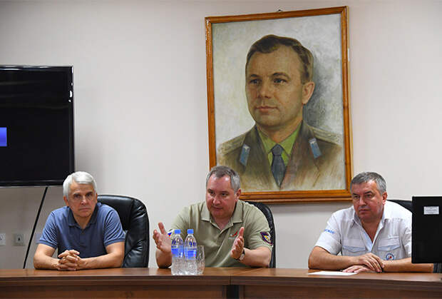 Обсуждение полета «Прогресс МС-09» в «Роскосмосе»