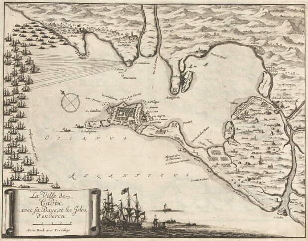 Англо-голландский флот у Кадиса - Англичане на краю света | Warspot.ru