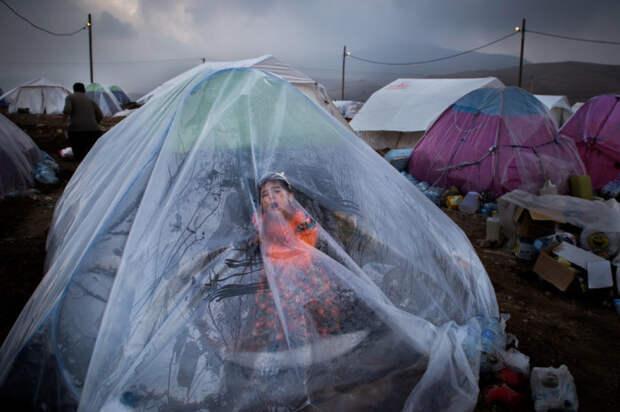 Разрушенная мощным землетрясением деревня Эммам Аббас-э Софла, провинции Керманшах, недалеко от ирано-иракской границы. Автор фотографии: Юнес Хани Соми Софлаи.