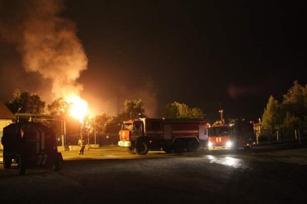 В Казани в результате взрыва на заправке погиб один человек