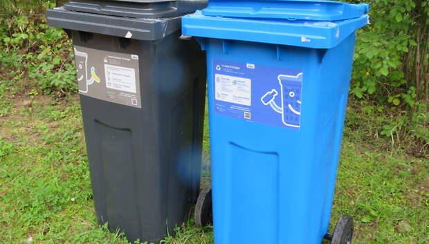 Воробьев: Необходимость раздельного сбора мусора важно донести до каждого жителя