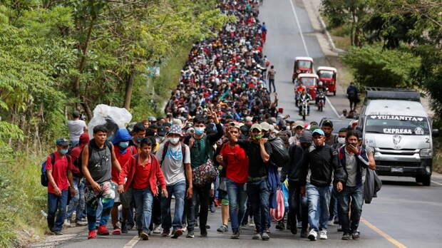 Первое испытание для гостеприимного Байдена: караван мигрантов из Гондураса, несущий коронавирус в США
