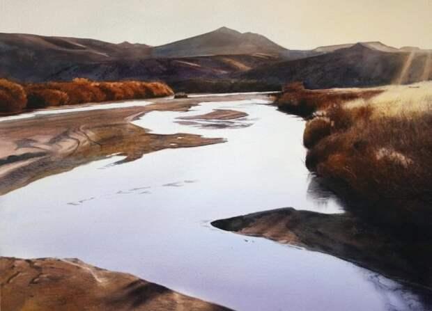 """""""Раскинулся вольно пейзаж вековой..."""" Американский художник Robert Highsmith"""