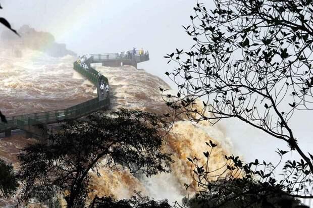 Iguazu 5 Захватывающие дух водопады Игуасу