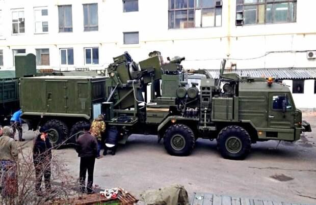 В России засветился новый боевой лазер на платформе БАЗ