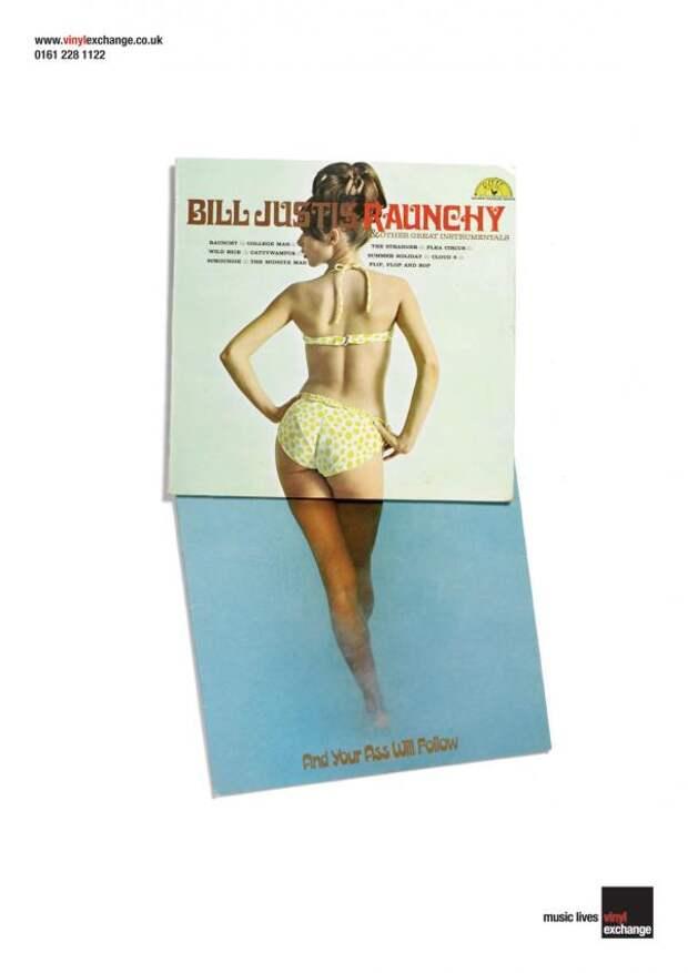 Vinyl Exchange: Ass, Vinyl Exchange, Propaganda, UK, Печатная реклама
