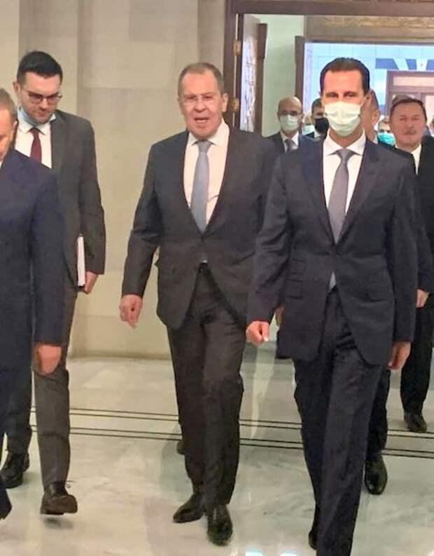 Асад рассказал о визите российской делегации в Сирию