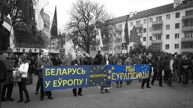Сходство белорусских и украинских лозунгов