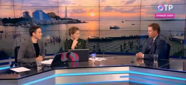 В прямом эфире федерального телеканала губернатор Севастополя ответил на вопрос об открытии «Муссона»