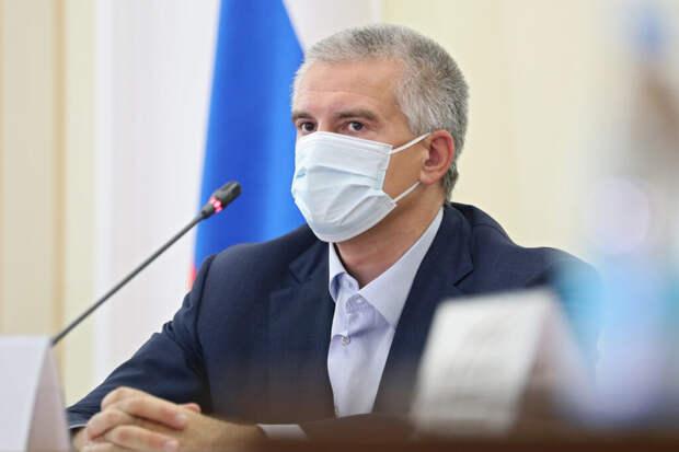 Глава Крыма назвал несоблюдение масочного режима катастрофой