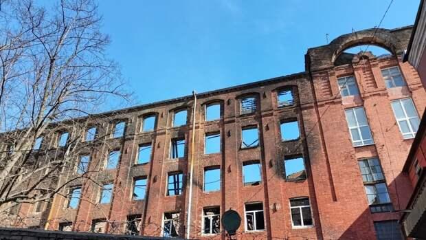 Пожар на Невской мануфактуре стал одним из самых сложных в современной истории