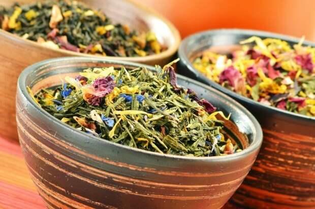 Травяные чаи: витаминные, лечебные КУЛИНАРИЯ - Всё PRO еду!