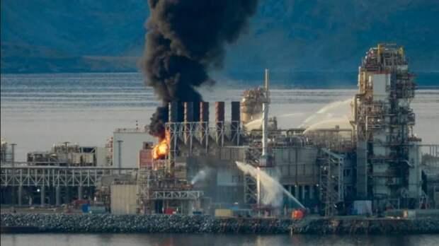 В Норвегии пожар на арктическом месторождении газа, один из самых серьёзных в отрасли. А экологи всех мастей молчат...