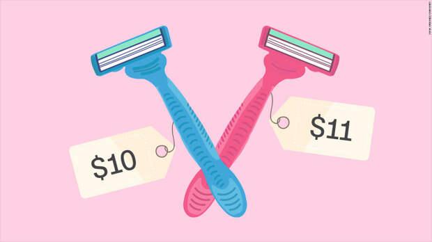 Большинство выберет синий цвет, а добавь зеленый вариант за 13$ и розовый уже становится заманчивее. /Фото: ssl.cdn.turner.com