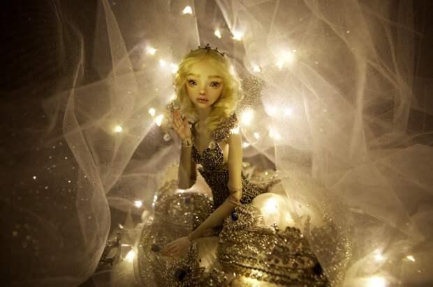 Дизайнер создает одухотворенные куклы для взрослых