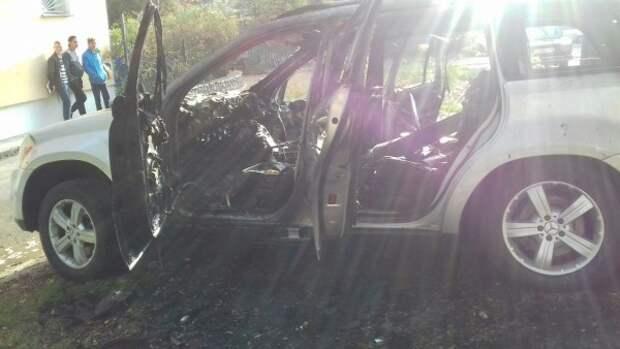 По ночам в Севастополе начали гореть автомобили