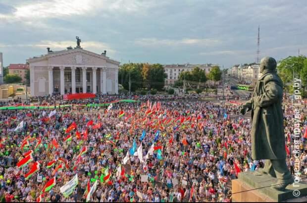 Майдан пытается расколоть Белоруссию пополам — Могилёв и Гомель против Гродно