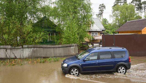Госадмтехнадзор рассмотрел почти 300 обращений по подтоплениям в Подмосковье