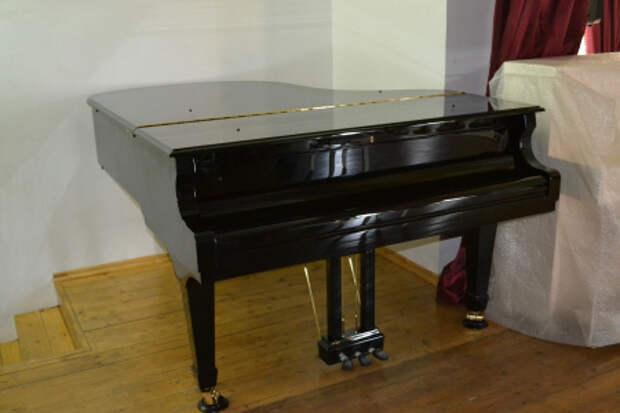 В Амгинскую детскую школу искусств начались поставки музыкальных инструментов