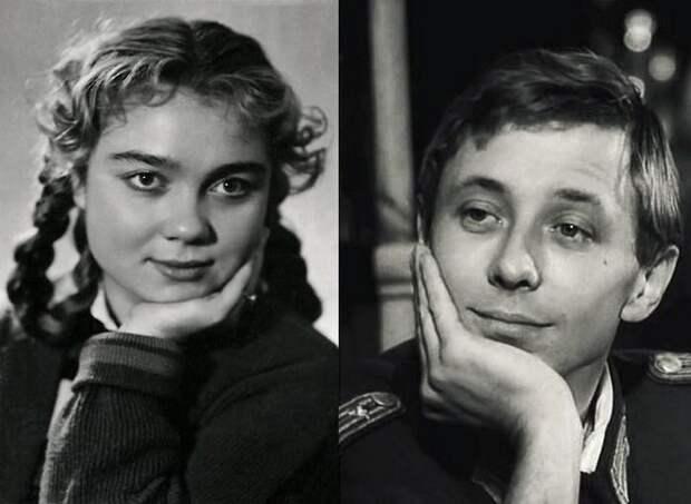 Нина Дорошина и Олег Даль. Брак был коротким, всего несколько дней. СССР, знаменитости, кино, супружеские пары, факты