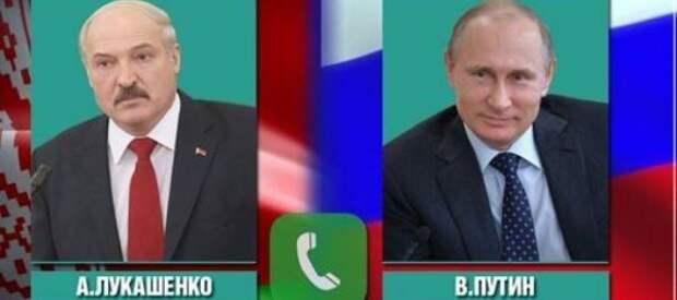 Лукашенко иПутин обсудили вопросы двустороннего сотрудничества