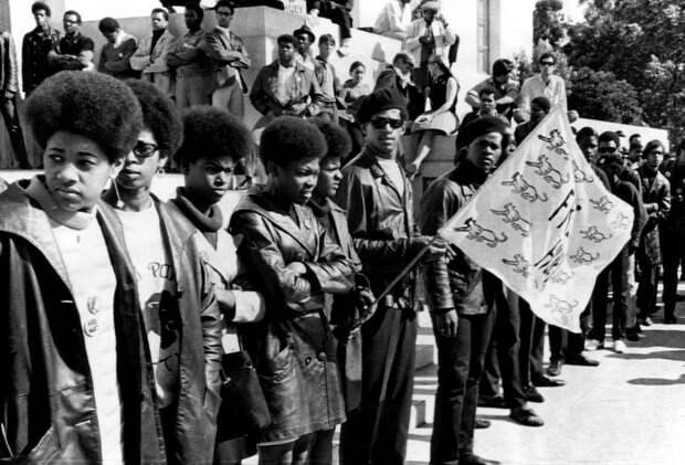 Социальные конфронтации в США 1960-х - 1970-х годов: Леворадикальная Партия черных пантер   (27)